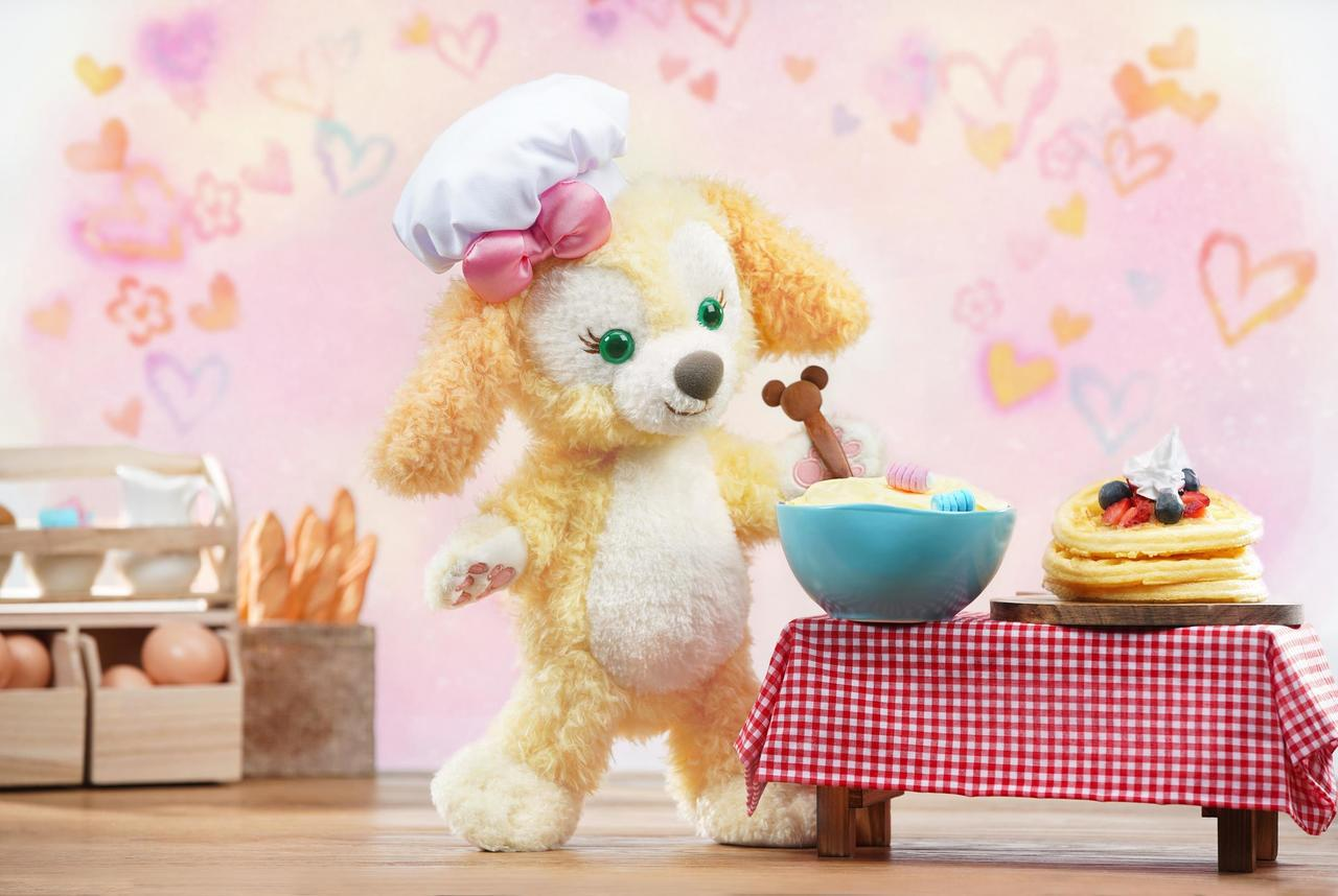 Cookie是一個熱愛烹飪和美食的小女孩。圖/香港迪士尼提供