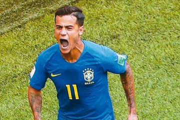 巴西拚E組龍頭 退役球星卡卡:關鍵是庫蒂尼奧