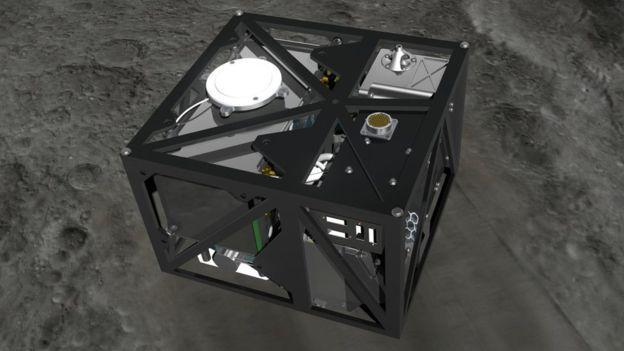 「隼鳥2號」攜帶的法德製登陸器MASCOT。圖/翻攝自網路