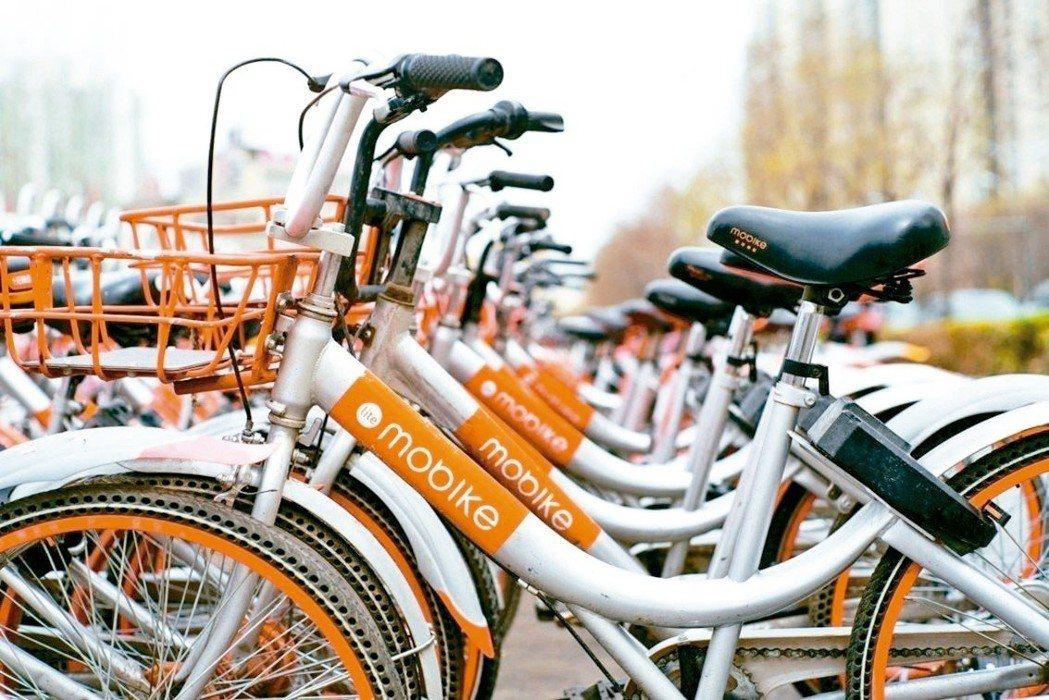 摩拜共享單車是中國大陸「新四大發明」之一。 圖/摘自網路