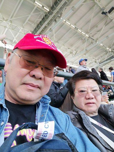 關健中現場觀摩世界杯賽事,對俄羅斯印象良好,堅信法國隊最終奪冠 記者黃少華/攝影