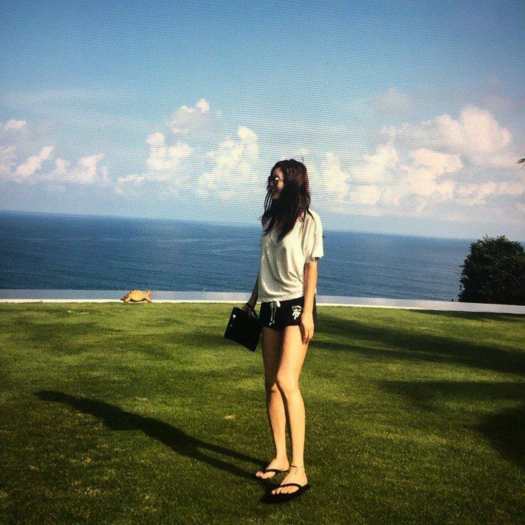 韓國女演員金成鈴。圖/擷自instagram