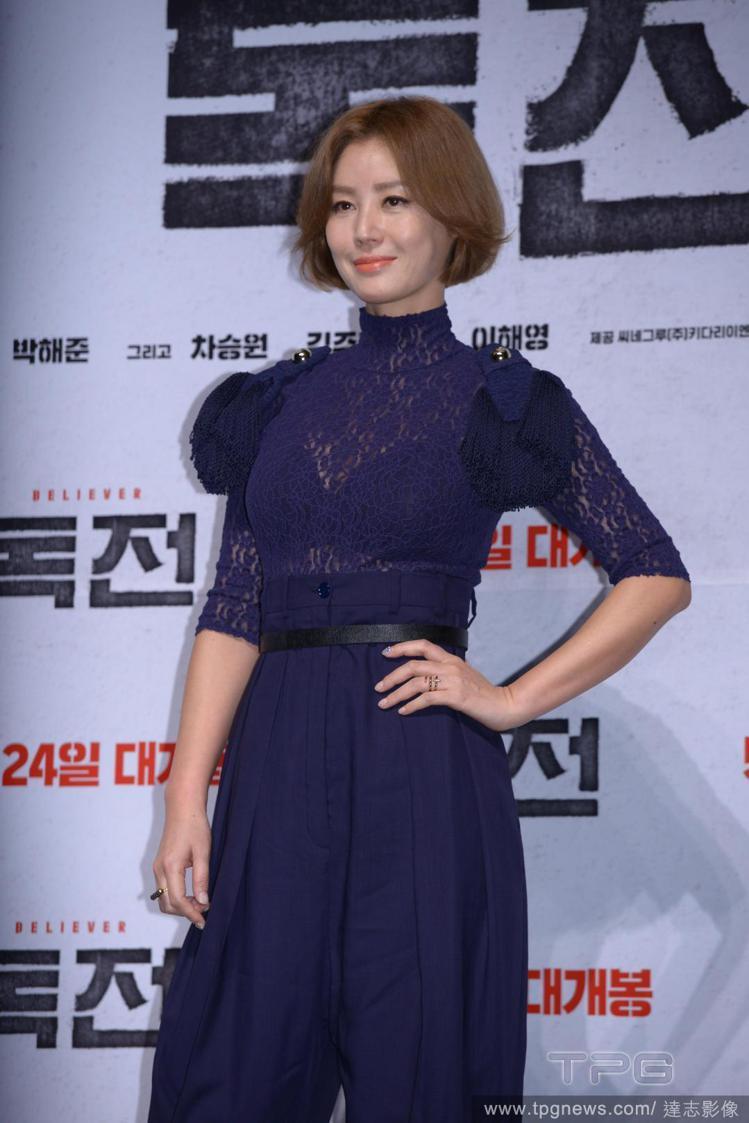 韓國女演員金成鈴。圖/達志影像