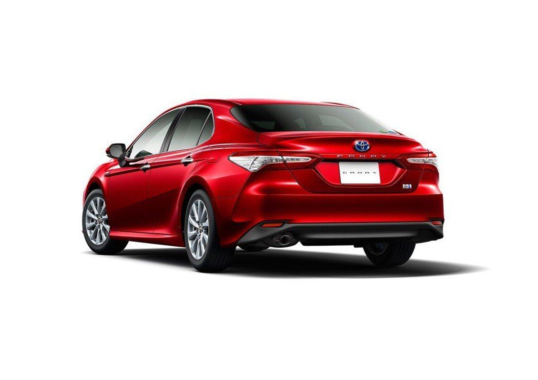 圖為全新Toyota Camry Hybrid。 摘自Toyota