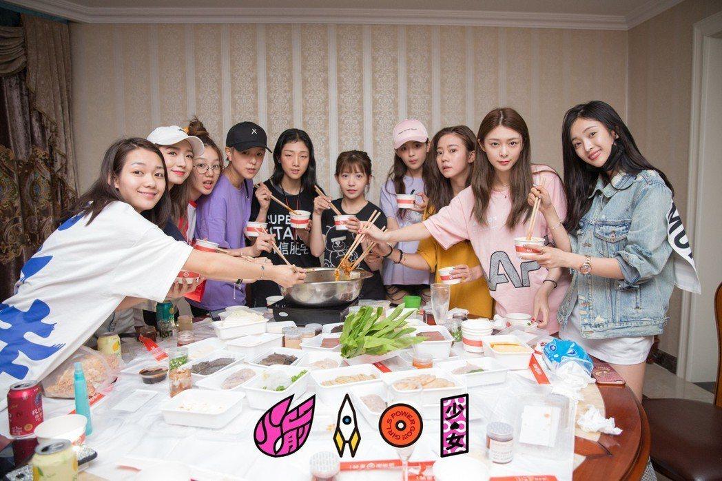 「火箭少女101」已入住宿舍。圖/擷自微博