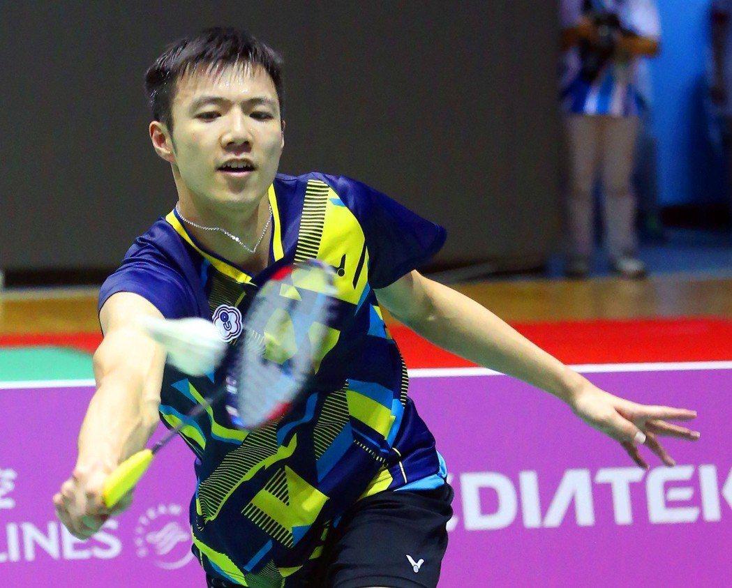台灣羽球選手王子維 圖片來源/聯合報系