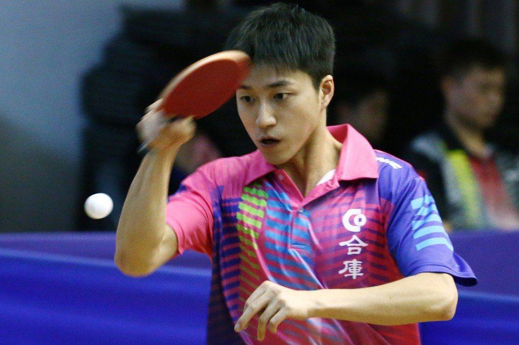 台灣桌球選手江宏傑 圖片來源/聯合報系
