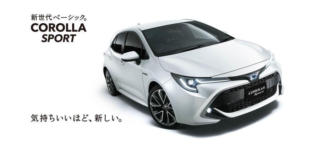 日規Toyota Corolla Sport正式發表。 摘自Toyota Japan
