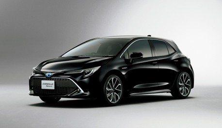日規Toyota Corolla Sport正式亮相 台灣九月上旬確定發表