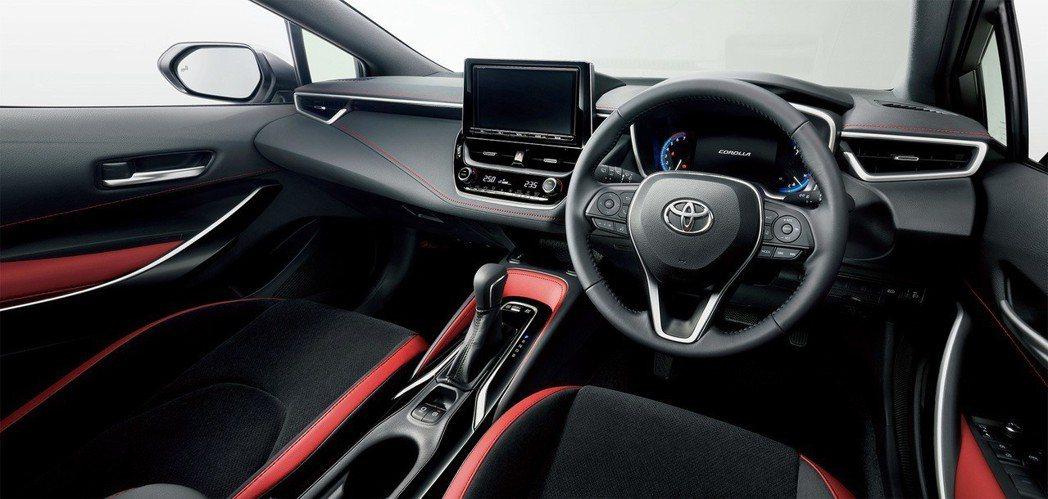 日規Toyota Corolla Sport內裝。 摘自Toyota