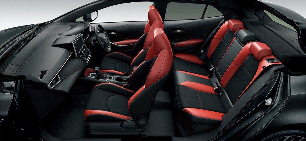 日規Toyota Corolla Sport內裝。 摘自Toyota Japan
