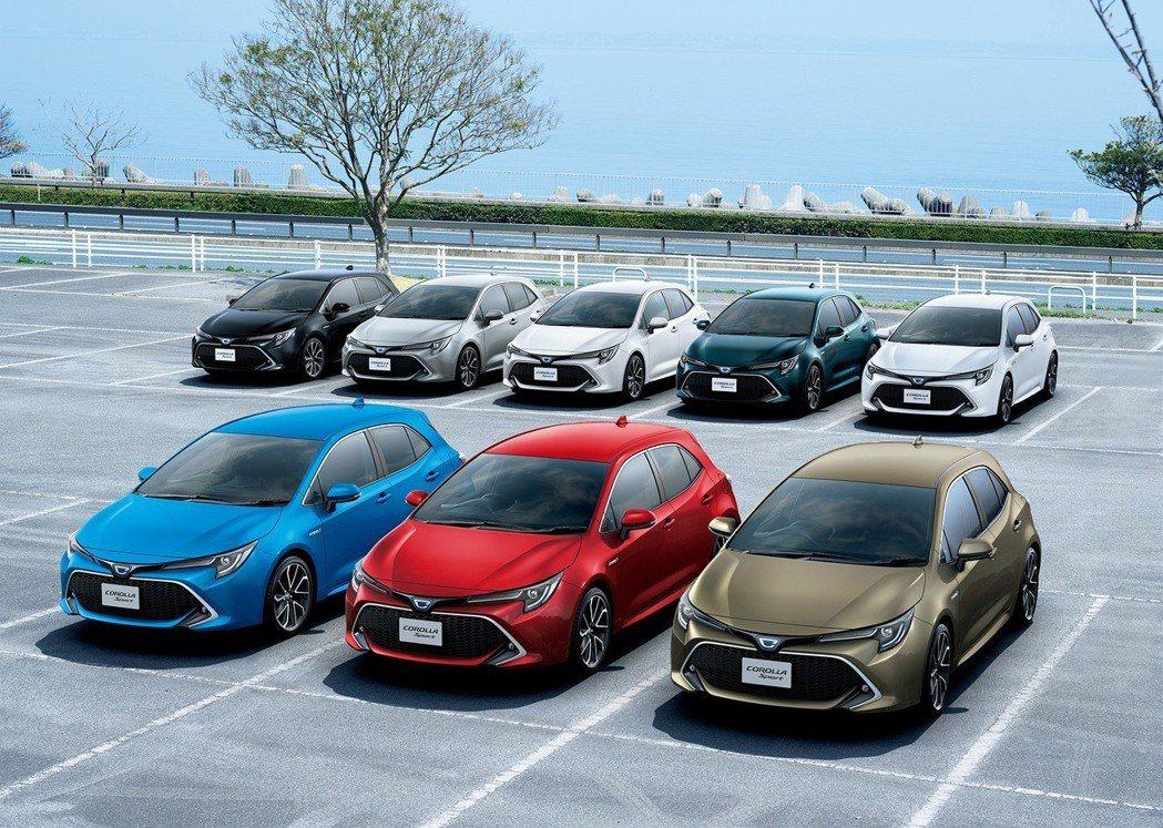 今年迎來新世代車款的Toyota Auris,將有望提升Corolla車系的銷售...