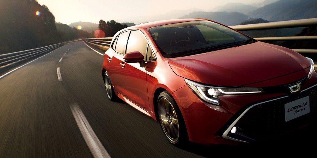 圖為日規Toyota Corolla Sport。 摘自Toyota Japan