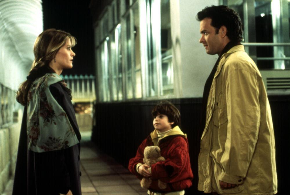 「西雅圖夜未眠」男女主角終於相會的對手戲,據傳並非在帝國大廈拍攝。圖/摘自Cin...