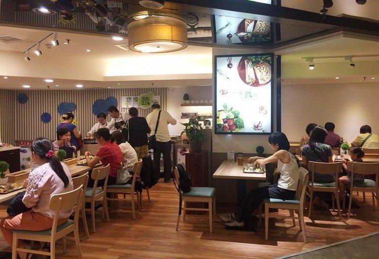 推廣在地健康環保蔬食、以蔬食自助餐型態呈現的「寶慶蔬坊玉波堂」進駐遠百寶慶店B1...