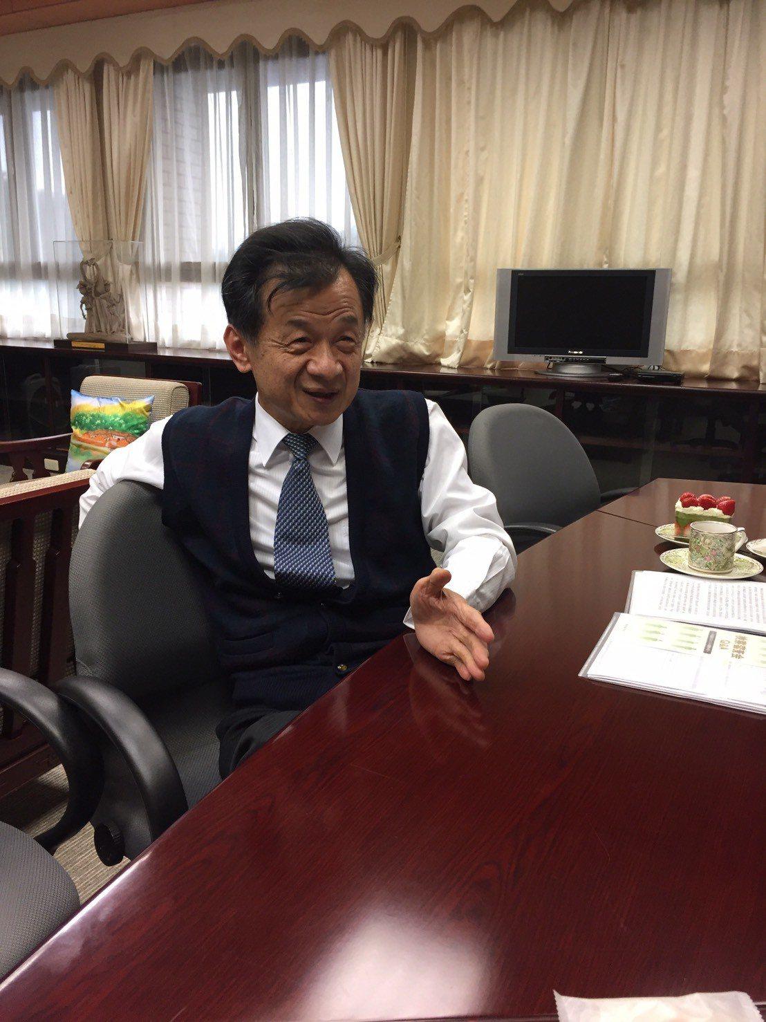 法務部長邱太三。報系資料照片