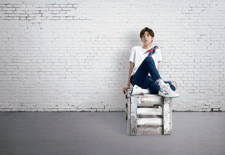 畢書盡演繹的全新Revenge鞋款,預計在7月份上市。圖/Reebok提供