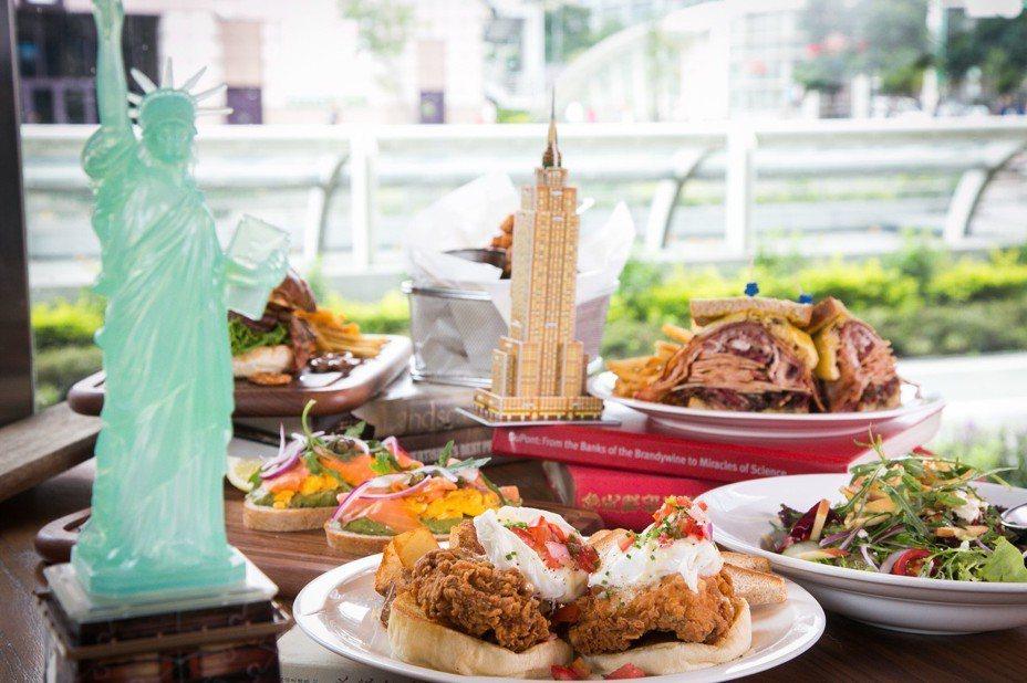 美式餐廳1Bite2Go Café & Deli推出全新夏季料理,主打紐約風格料理。圖/1Bite2Go Café & Deli提供