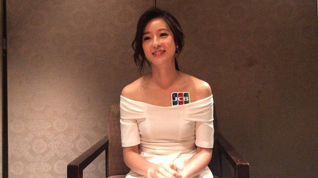 賴雅妍代言信用卡。記者黃保慧/攝影