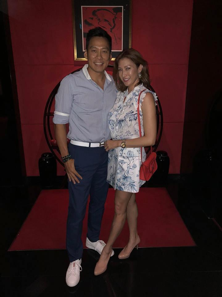 艾力克斯(左)和李詠嫻是圈內模範夫妻。圖/艾迪昇提供