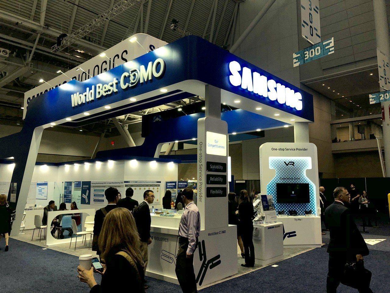 三星生物製劑今年在美國Bio展上,以「全球最佳生物製劑公司」的姿態向世人宣告搶攻...