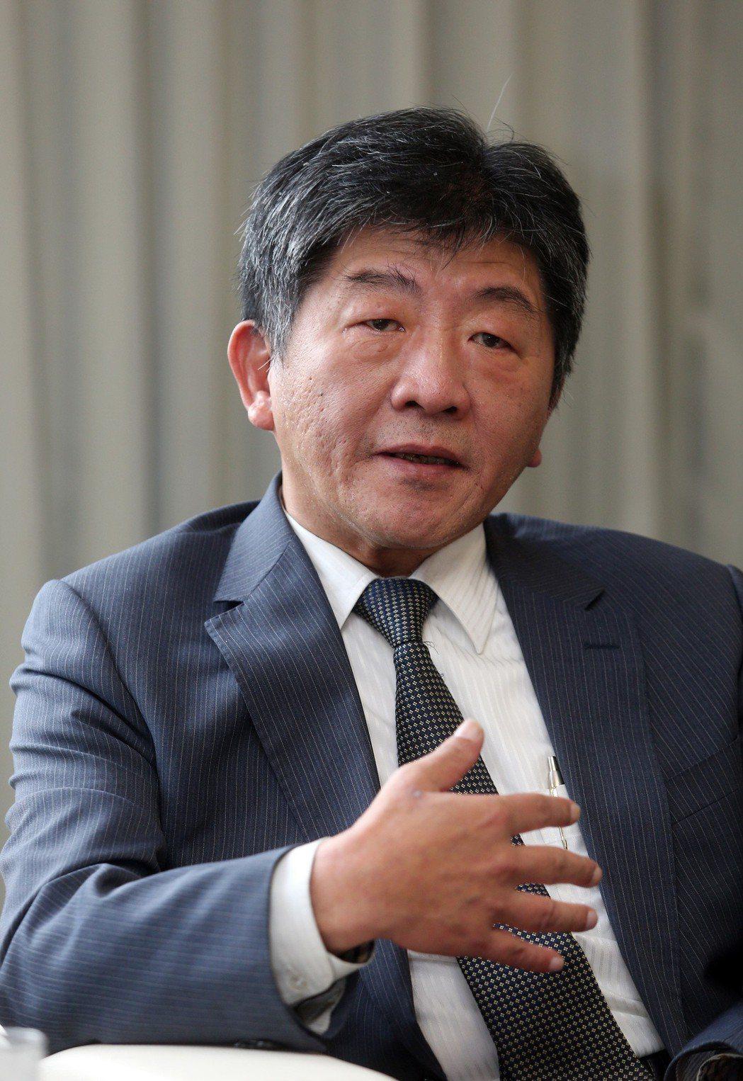 願景工程,衛福部長陳時中談長照。記者曾吉松/攝影