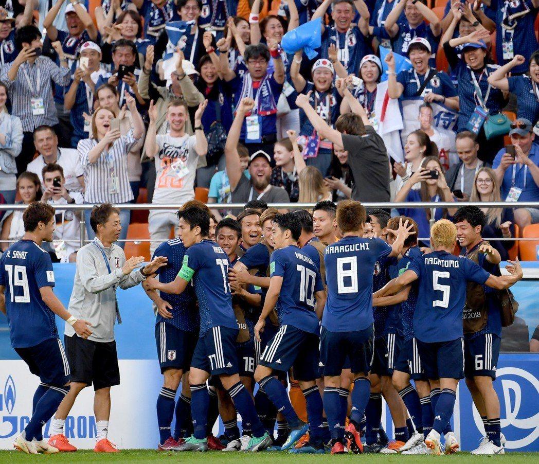 亞洲球隊剩H組的日本還有機會晉級,今天對波蘭要爭取出線。 新華社