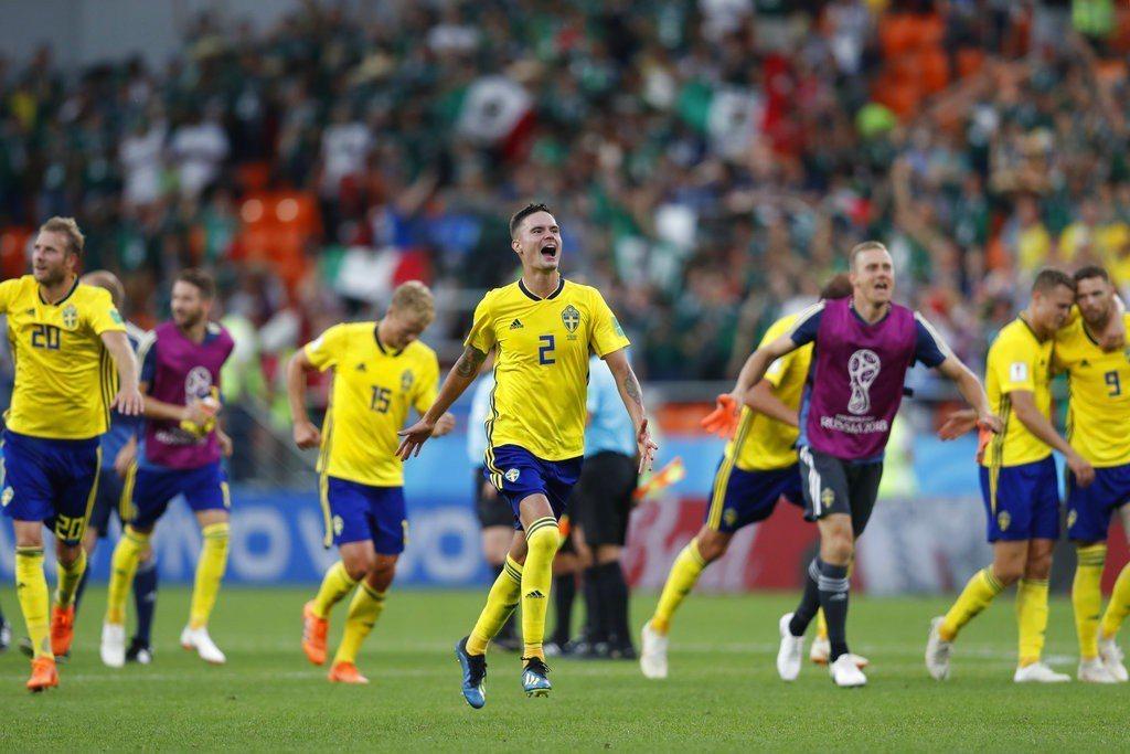 瑞典以3:0獲勝,分組積分6分,以淨勝球躍上分組第一,隊史第4度從分組賽出線。 ...