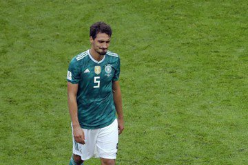德國被南韓進2球 胡梅爾斯:下半場亂了套
