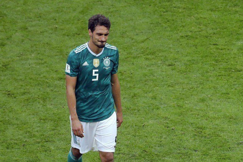 德國後衛胡梅爾斯(Mats Hummels)表示,球隊下半場完全亂了套,過往對球...