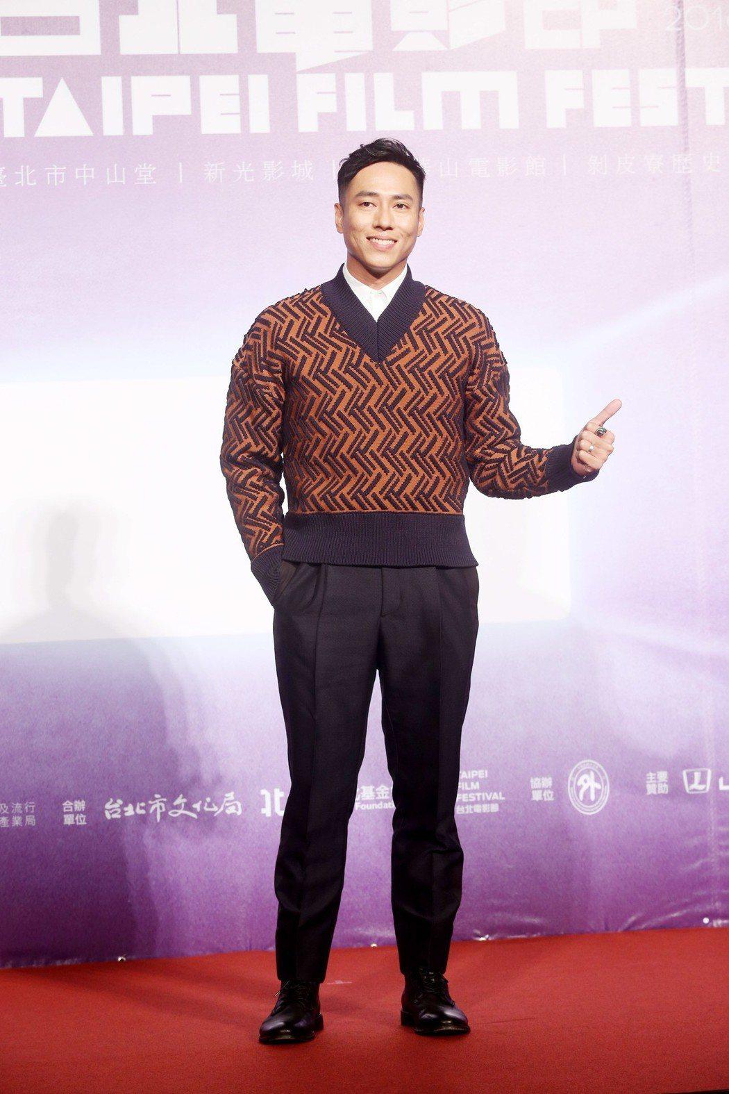台北電影節開幕片《范保德》舉行亞洲首映記者會,演員莊凱勛出席。記者邱德祥/攝影
