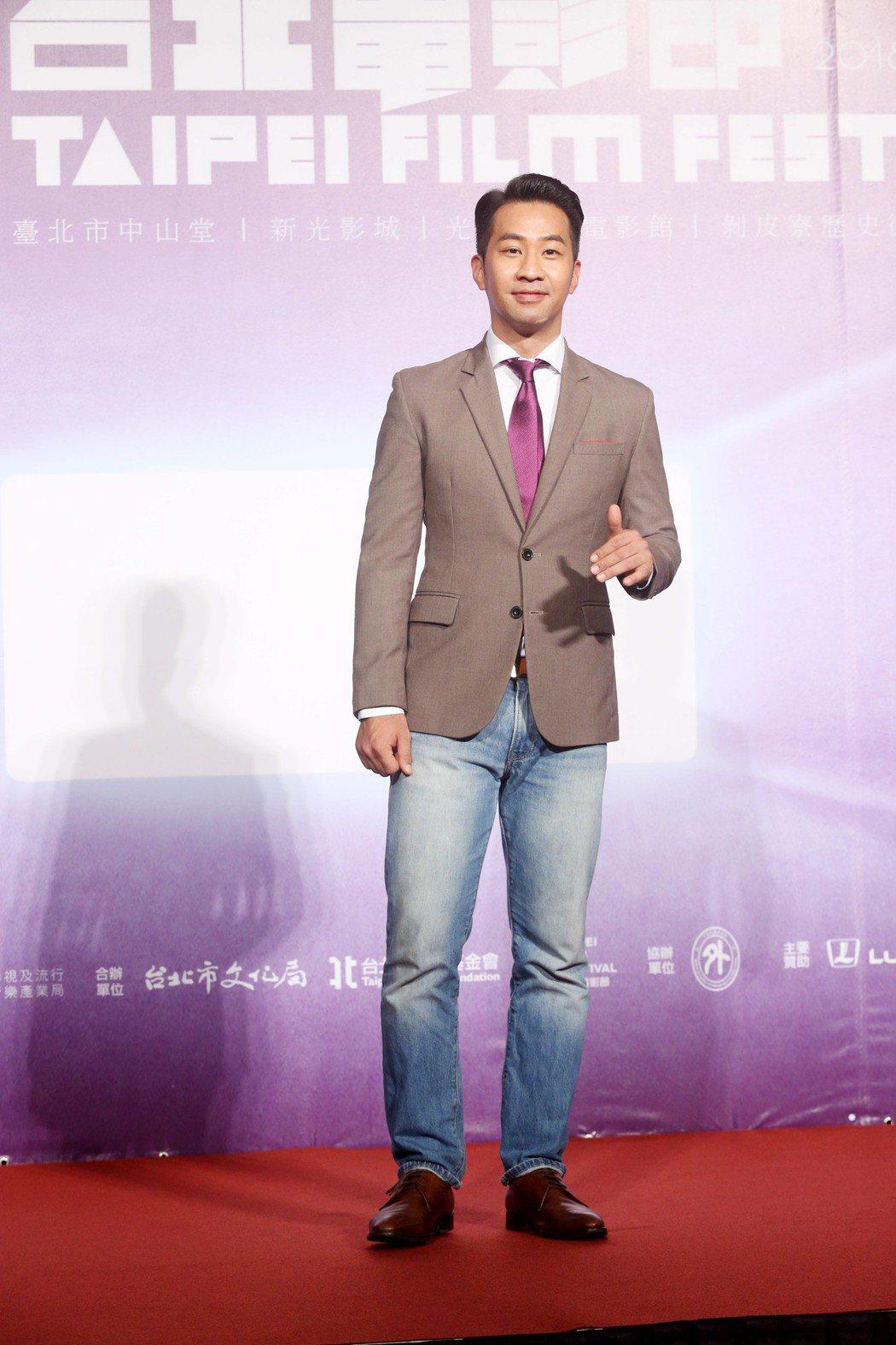 台北電影節開幕片《范保德》舉行亞洲首映記者會,演員黃健瑋出席。記者邱德祥/攝影