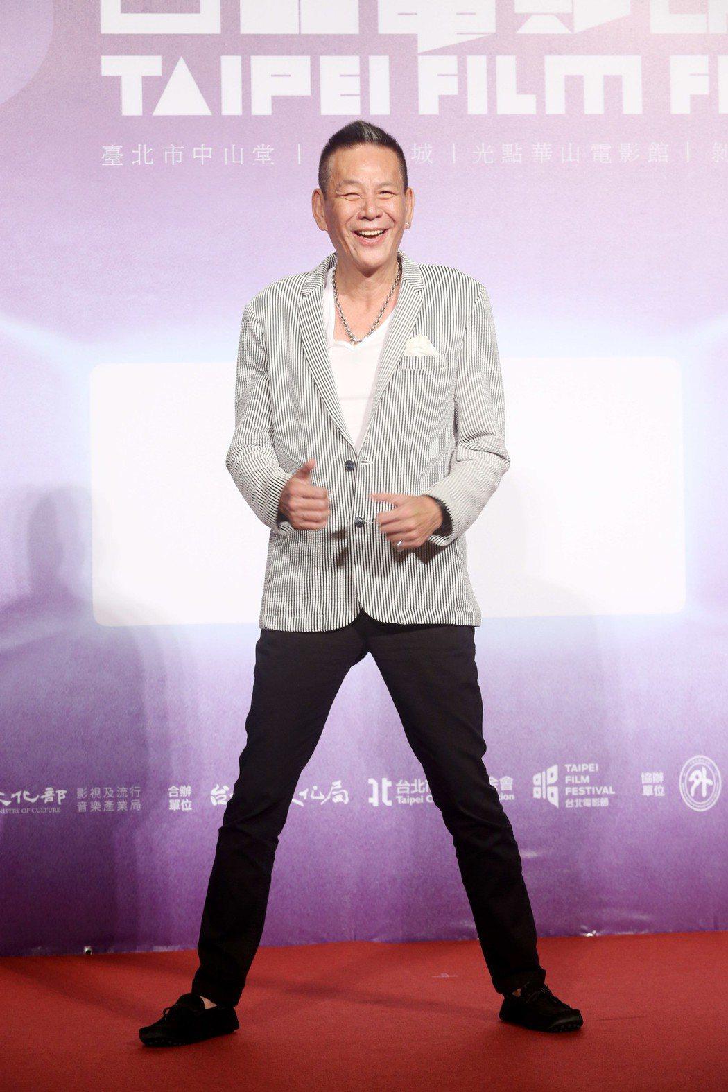 台北電影節開幕片《范保德》舉行亞洲首映記者會,演員龍邵華出席。記者邱德祥/攝影