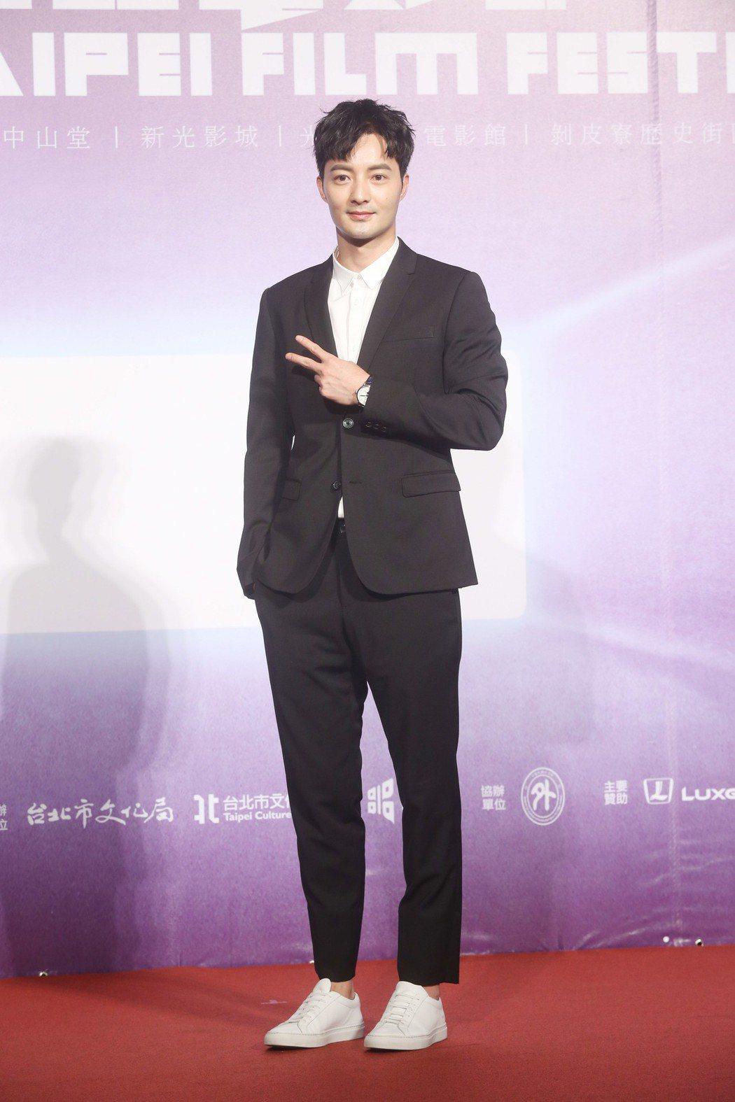 台北電影節開幕片《范保德》舉行亞洲首映記者會,演員古斌出席。記者邱德祥/攝影