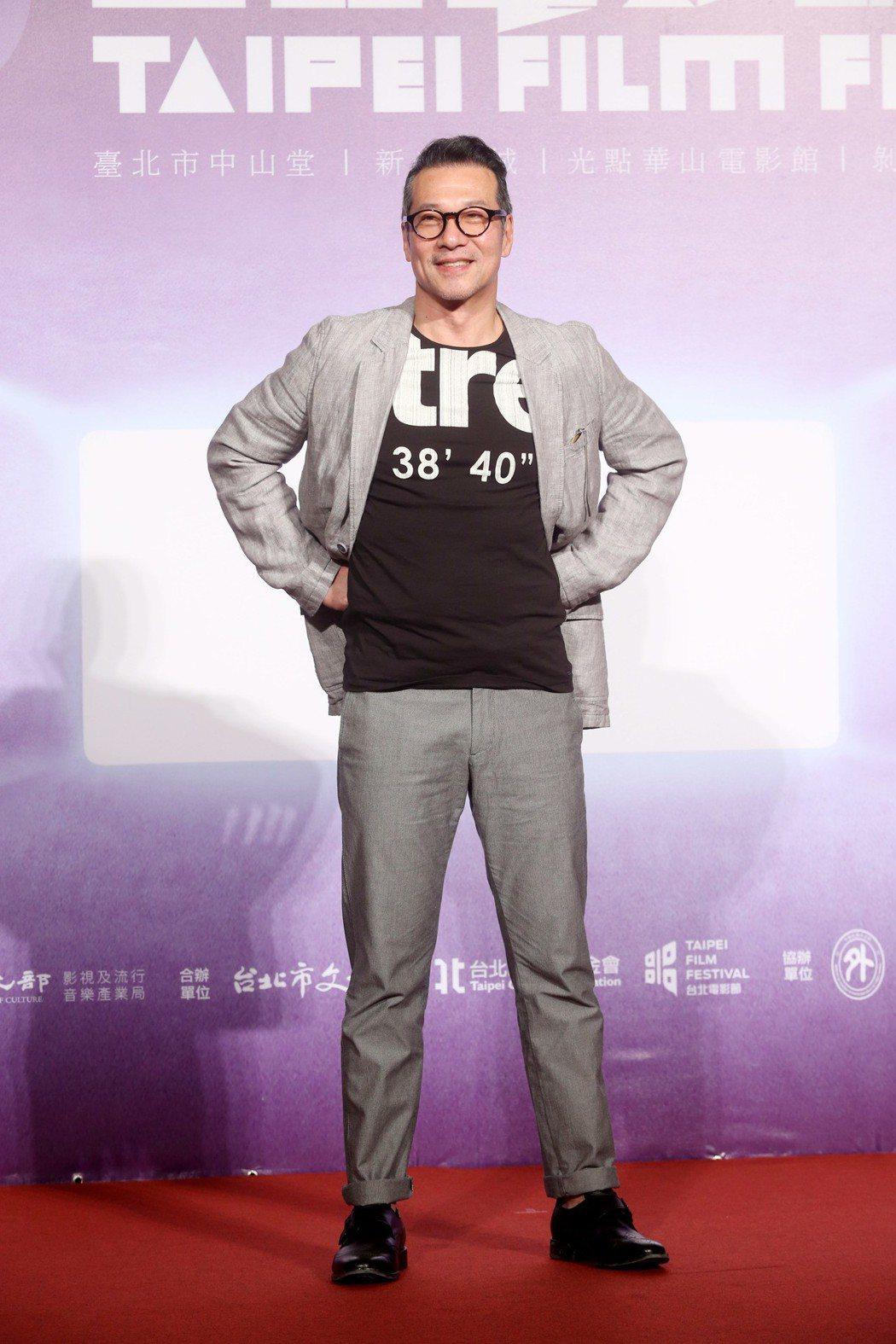 台北電影節開幕片《范保德》舉行亞洲首映記者會,男主角黃仲崑出席。記者邱德祥/攝影