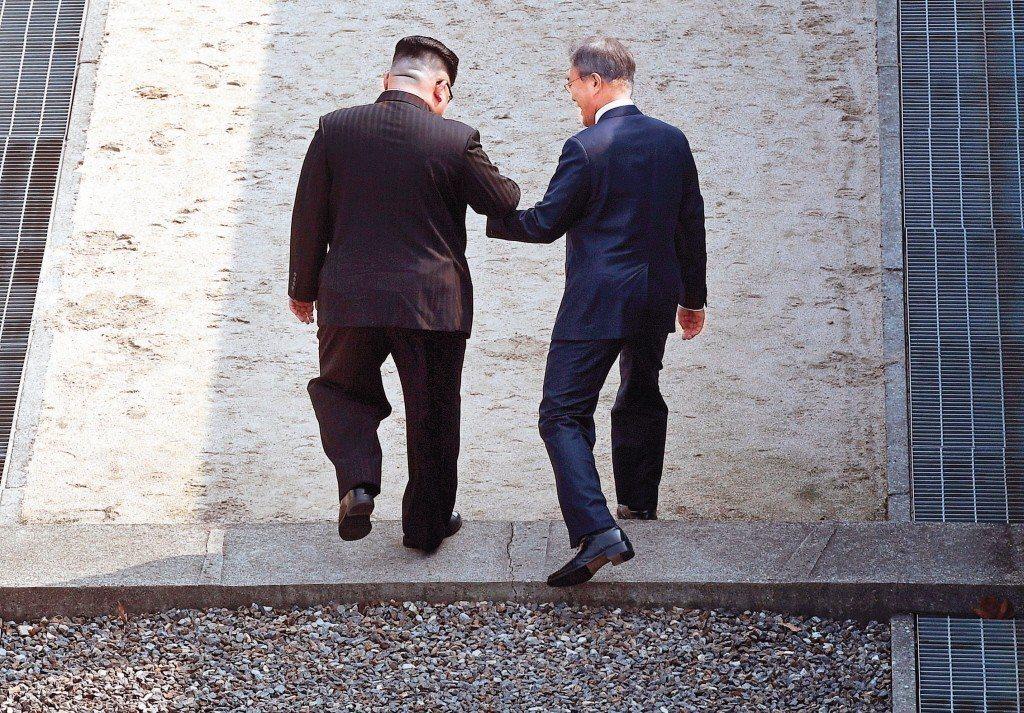王金平表示,「喬」是一種解決問題的必要工具,南北韓要談和平也是「喬」。 (美聯社...