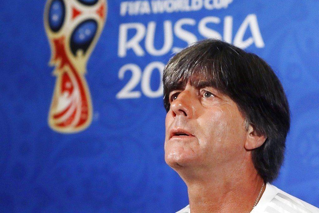 德國總教練勒夫。 (美聯社)