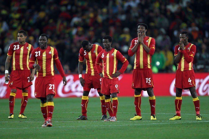 黑色之星迦納在2010世界盃16強賽時曾以2:1淘汰美國,可惜在8強賽時對烏拉圭...
