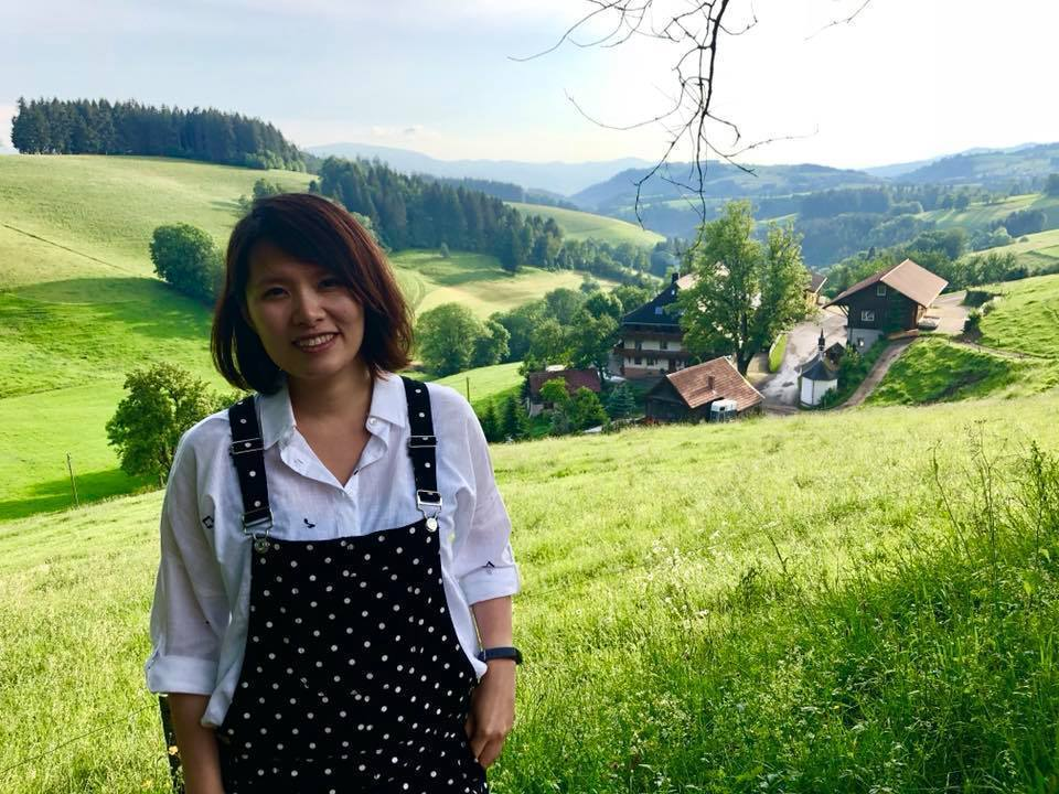 馨儀懷孕後還是跟著去德國演出。 圖/擷自蘇打綠臉書