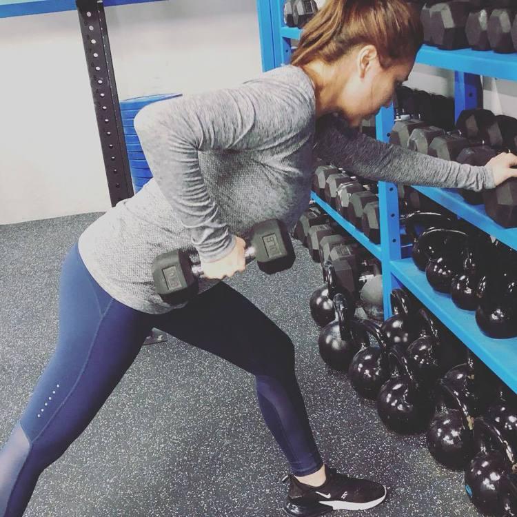 小禎用半年讓自己養成運動習慣。圖/擷自facebook