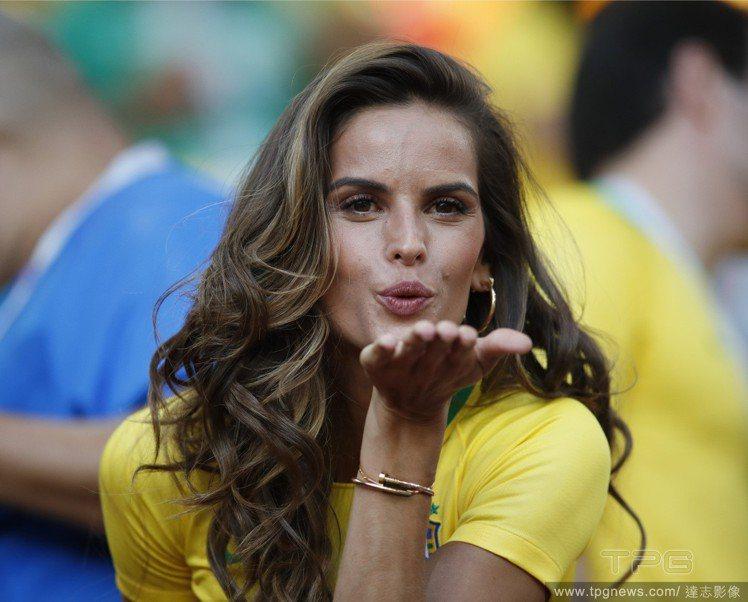 巴西超模Izabel Goulart。圖/達志影像