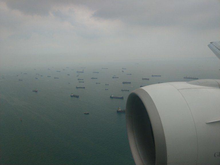 壯觀的新加坡海峽 圖文來自於:TripPlus