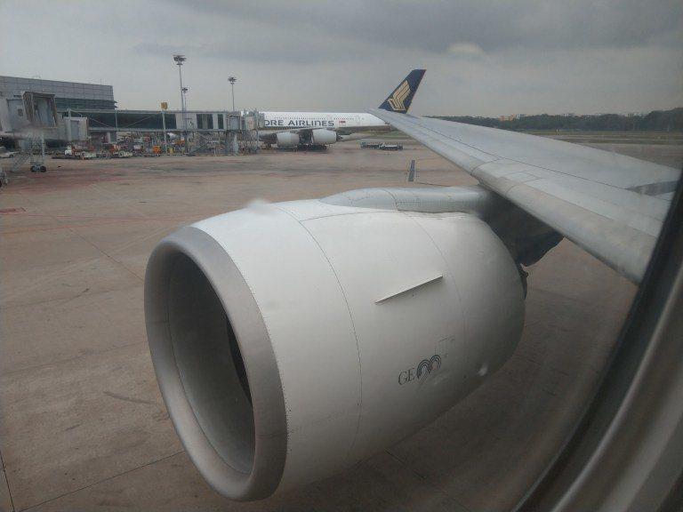降落在新加坡機場 圖文來自於:TripPlus