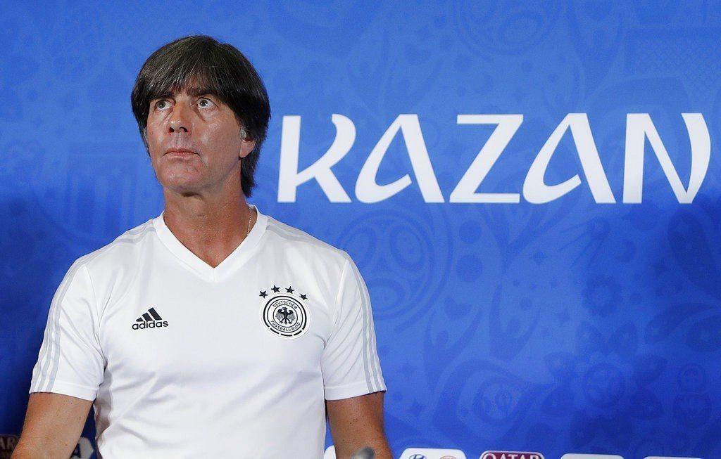 德國總教練勒夫。美聯社