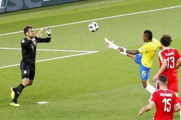 巴西2:0淘汰塞爾維亞 連13屆收晉級資格