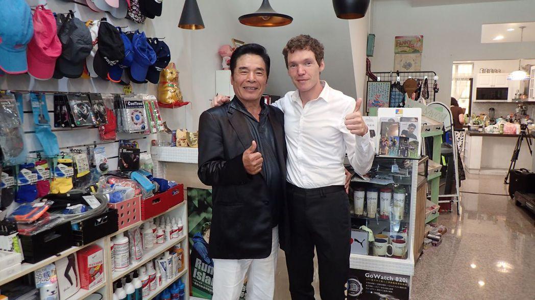 雷洪和江佩靜的法籍先生吉雷米。圖/公視提供