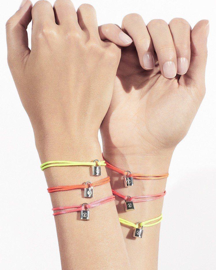 Silver Lockit手環再出新色,購買就能支持聯合國兒童基金會援助。圖/L...