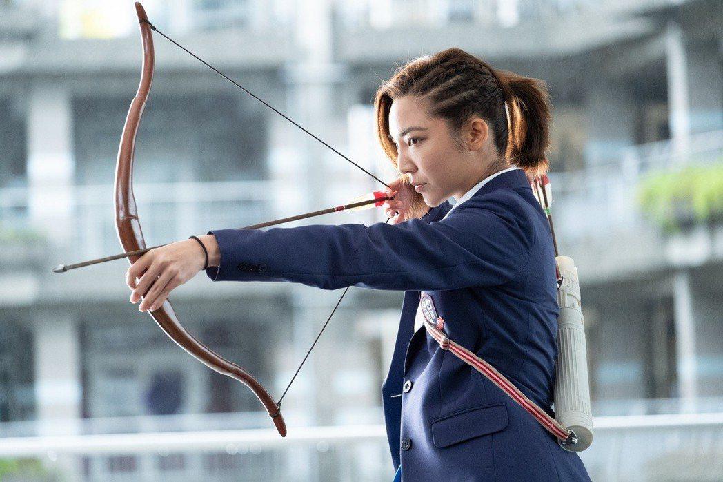高雋雅飾演嗆辣四姐。圖/群星瑞智提供