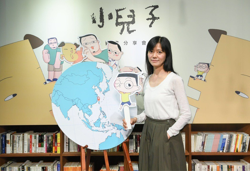 蘇麗媚出席「小兒子」動畫卡通上缐記者會。圖/結果娛樂提供