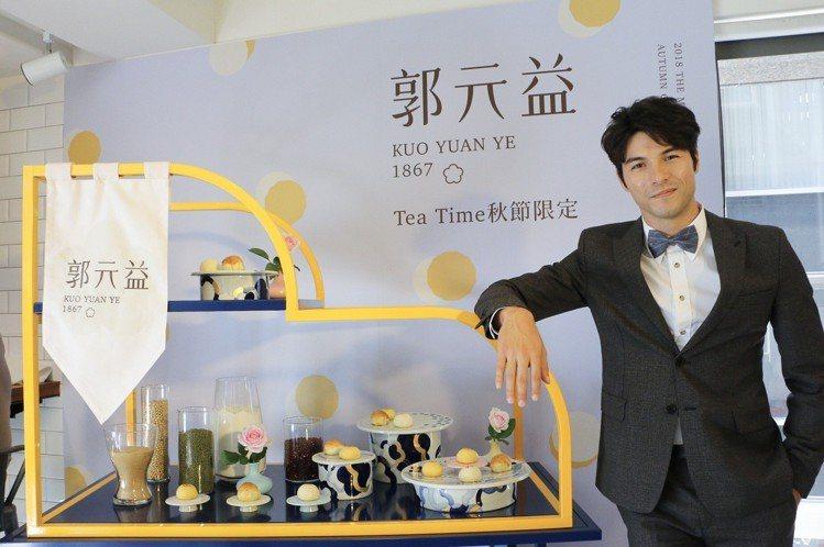 鳳小岳擔任郭元益品牌代言人。圖/記者謝欣倫攝影